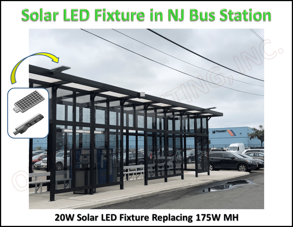 Solar Light Bust Station Project