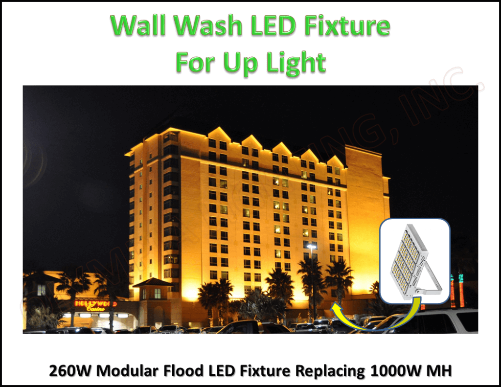 Wall Wash Up Light Project